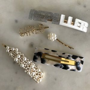 Assorted Hair Clips/Pins/Accessories